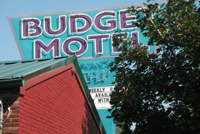 Budget Motel, Interstate Avenue, Portland Oregon