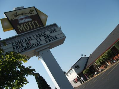 Monticello Motel, Interstate Avenue, Portland Oregon